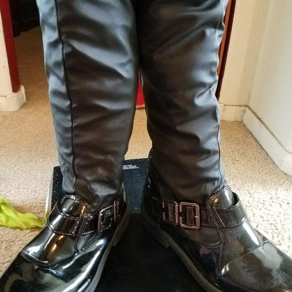 Black Winter Boots Kohls Totes